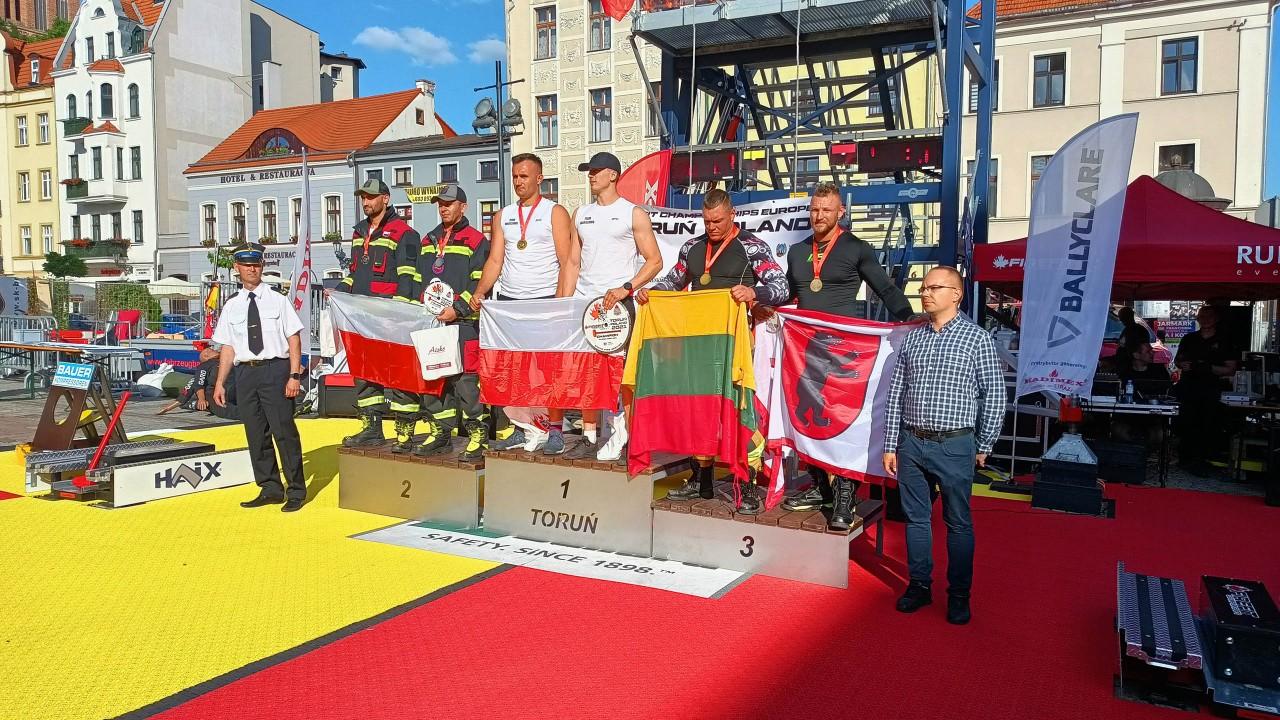 """Toruń - Międzynarodowe Mistrzostwa Polski o tytuł """"Najtwardszego Strażaka"""""""