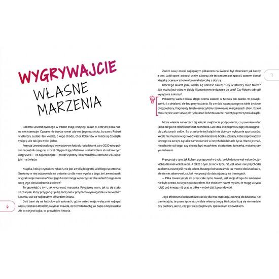 Book - Lewandowski Jak wygrać marzenia