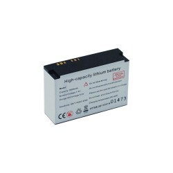 Rechargeable battery for Alcovisor devices