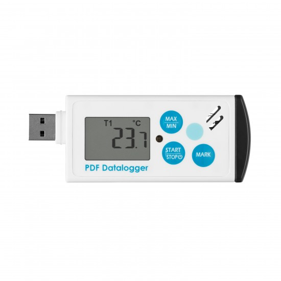 Temperature and humidity logger