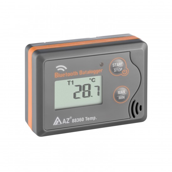 Temperature logger with bluetooth