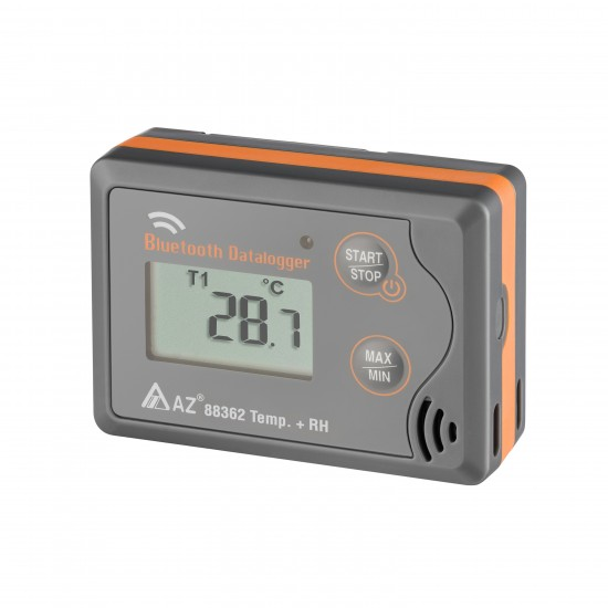 Temperature and humidity logger with bluetooth