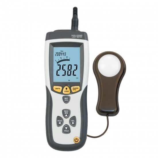 Luxmeter with computer cooperation function DT-8809A