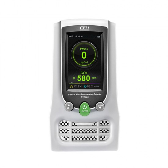 Particulate matter & air quality meter