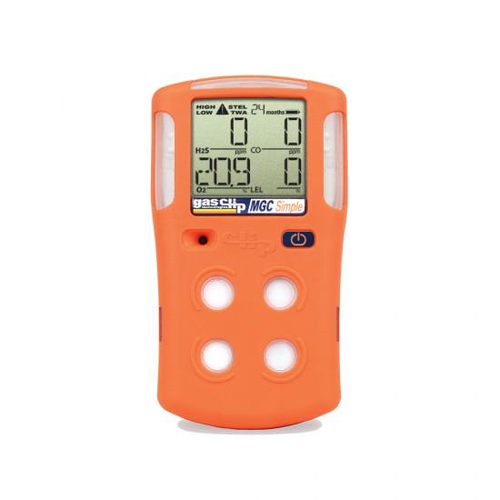 Multi-gas detector Multi Gas Clip Simple Plus