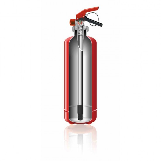 Wet chemical fire extinguisher 2 l