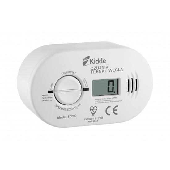 Carbon monoxide alarm with display Kidde 5DCO