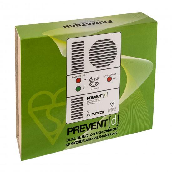 Carbon monoxide & natural gas alarm Prevent-D