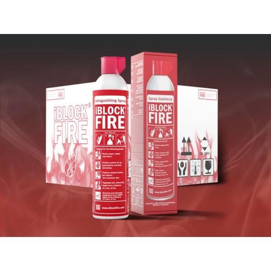 Fire extinguishing spray iBlockFIRE 600