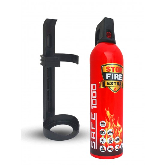 Fire Extinguishing Spray SAFE 1000 with holder